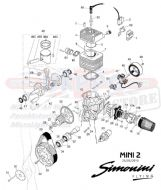 62S EXHAUST SPRING Silicone Sleeve (Sold Per Single Spring) (1)
